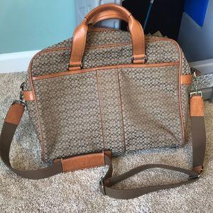 Coach work bag. Authentic
